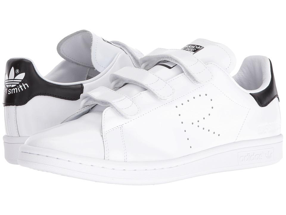Image of adidas by Raf Simons - Raf Simons Stan Smith CF (White/White/Black) Shoes