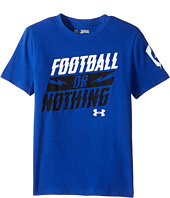 Under Armour Kids - Football or Nothing Short Sleeve Tee (Big Kids)