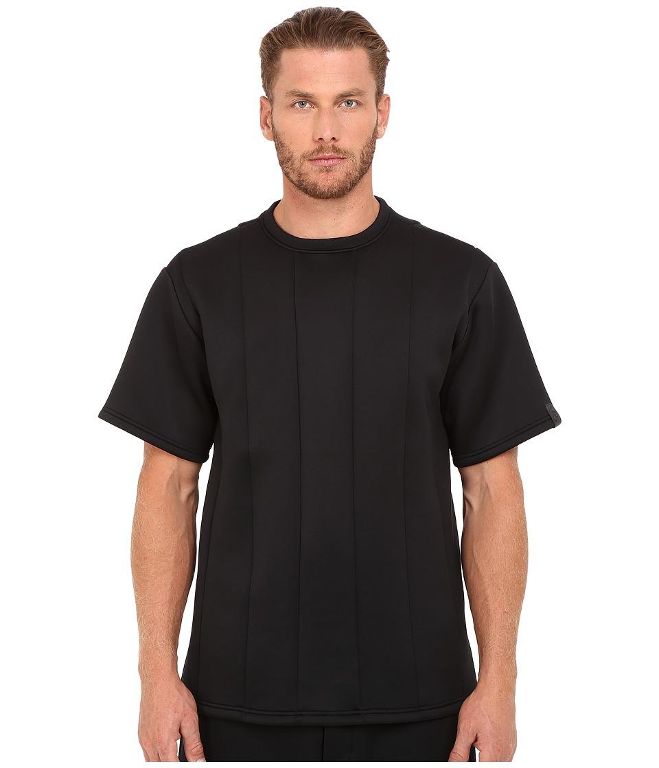 adidas Y-3 by Yohji Yamamoto - Spacer Crew T-Shirt (Black) Men