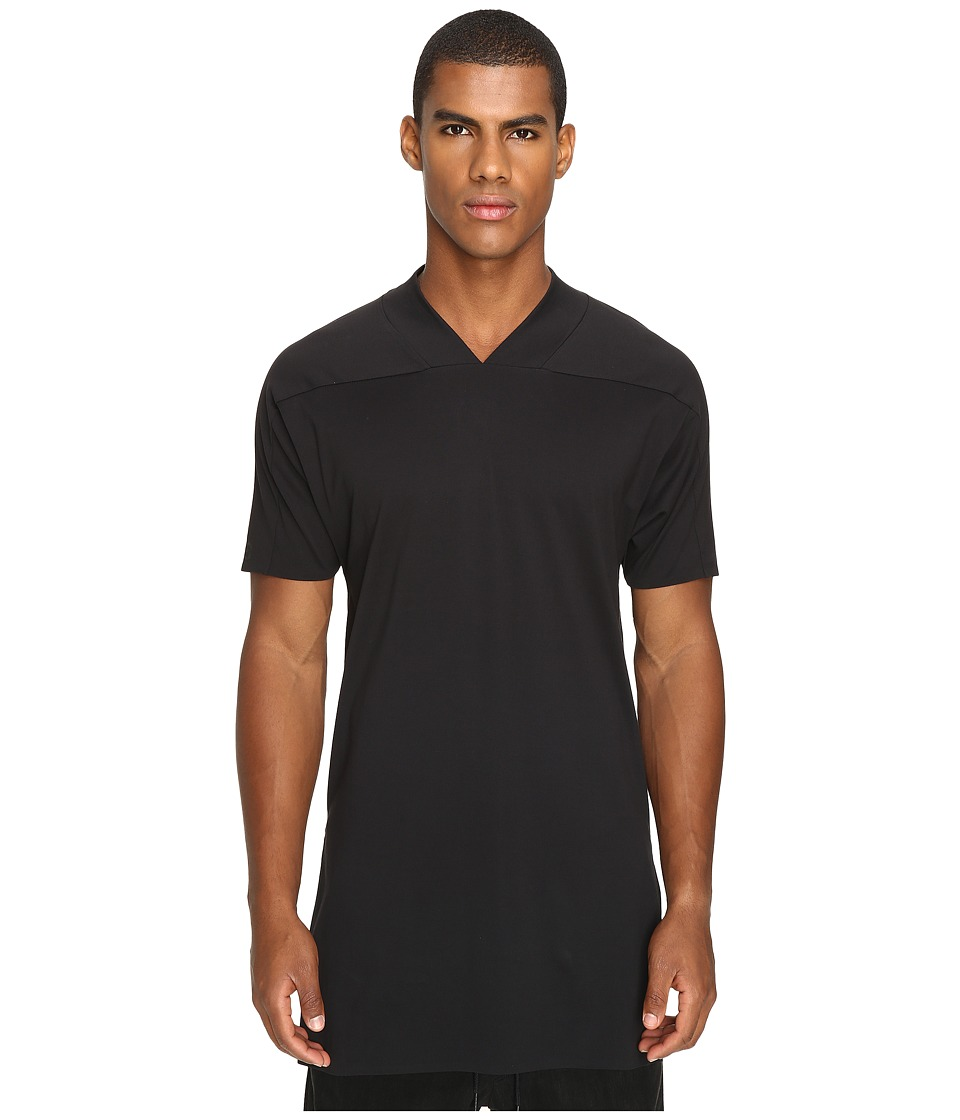 Image of adidas Y-3 by Yohji Yamamoto - Basic V-Neck (Black) T Shirt