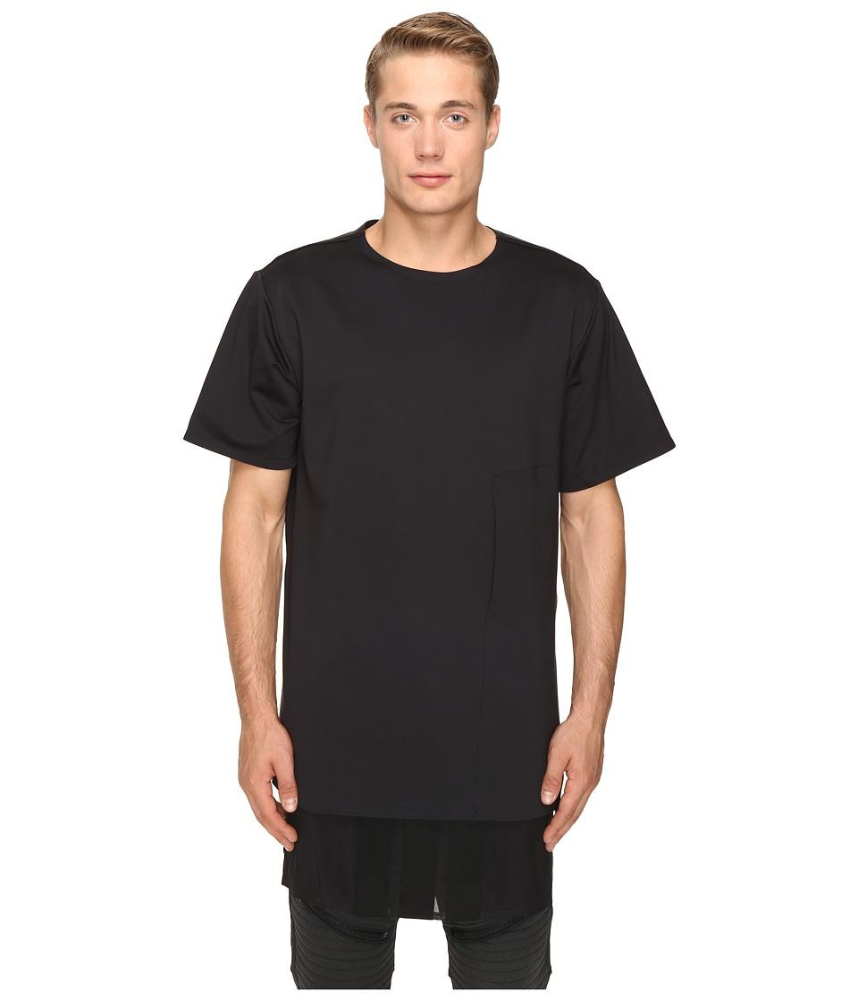 adidas Y-3 by Yohji Yamamoto Lux FT Pure T-Shirt (Black) T Shirt