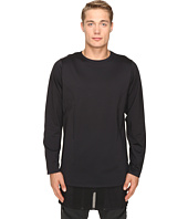 adidas Y-3 by Yohji Yamamoto - Lux FT Pure Long Sleeve T-Shirt
