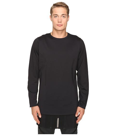 adidas Y-3 by Yohji Yamamoto Lux FT Pure Long Sleeve T-Shirt