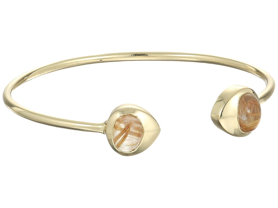 Cole Haan - Open Stone C Cuff Bracelet (Gold) Bracelet