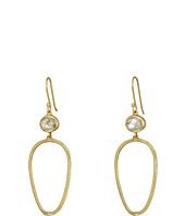 Cole Haan - Stone Open Teardrop Earrings