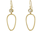 Cole Haan Stone Open Teardrop Earrings