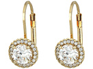 Cole Haan CZ Round Drop Earrings