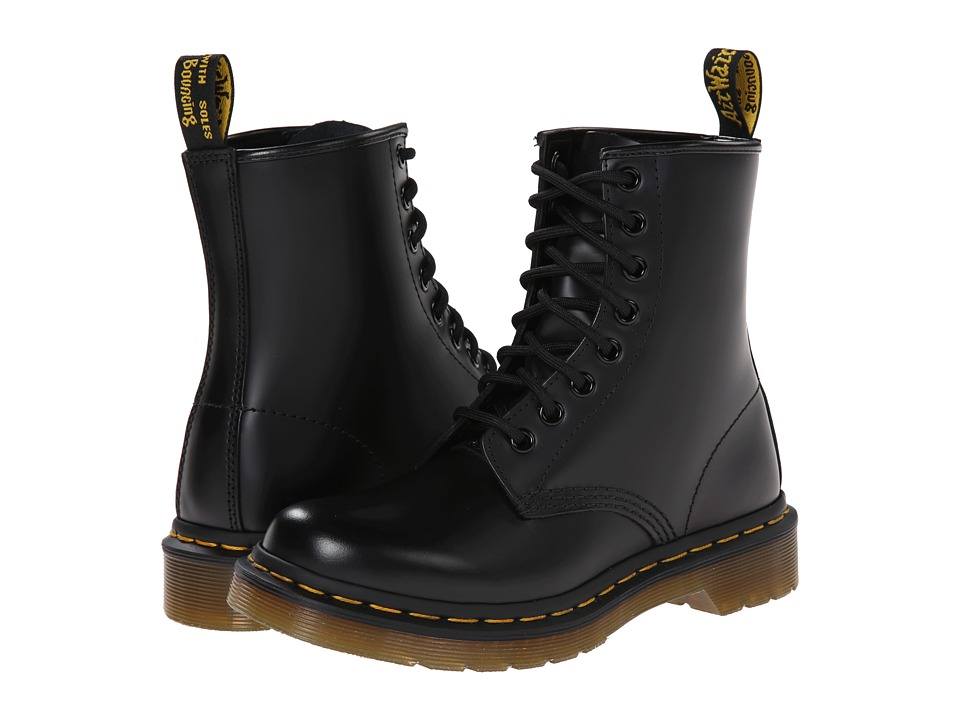 Dr. Martens - 1460 W (Black Smooth) Women