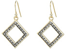 Cole Haan Open Diamond Drop Earrings