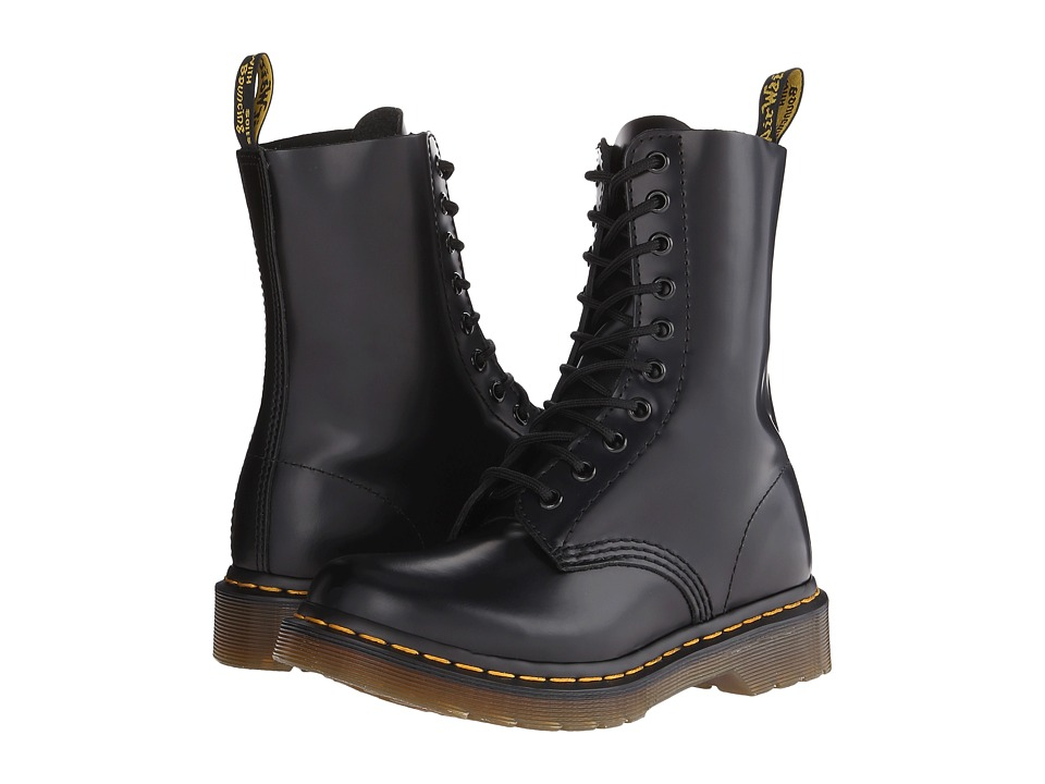 Dr. Martens 1490 W (Black Smooth) Women