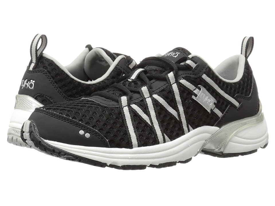 Ryka Hydro Sport (Black/Silver) Women's Cross Training Shoes