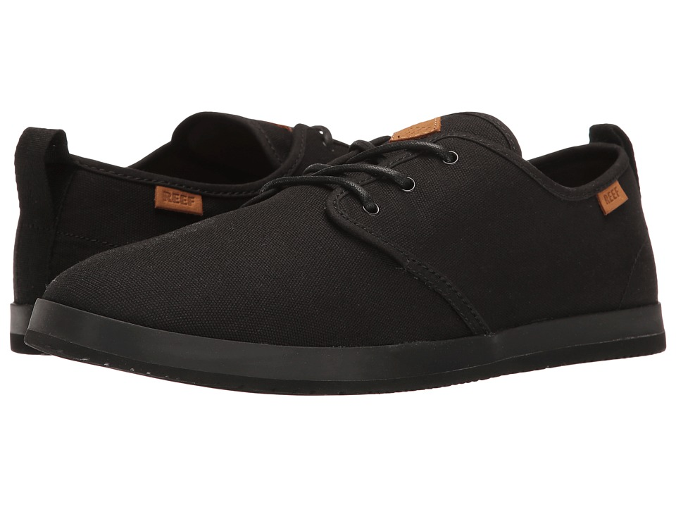 Reef Landis (Black/Black) Men
