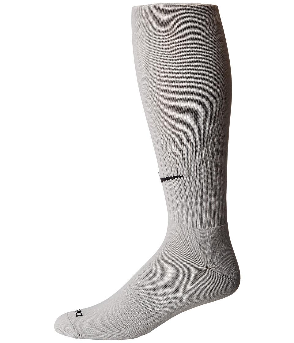 Nike - Classic II Cushion Over-the-Calf Socks (Pewter Grey/Black) Knee High Socks Shoes
