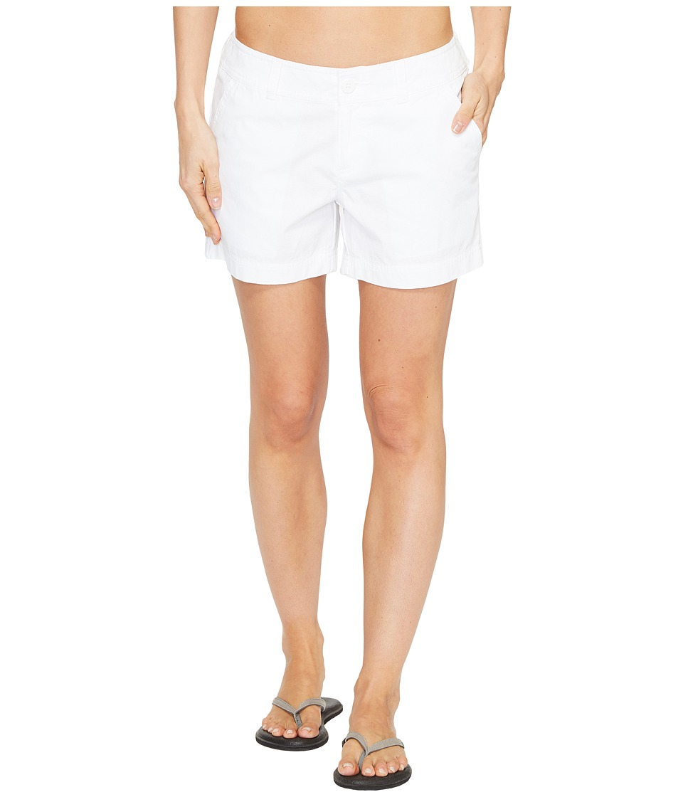 Columbia Compass Ridge Shorts 4 (White) Women