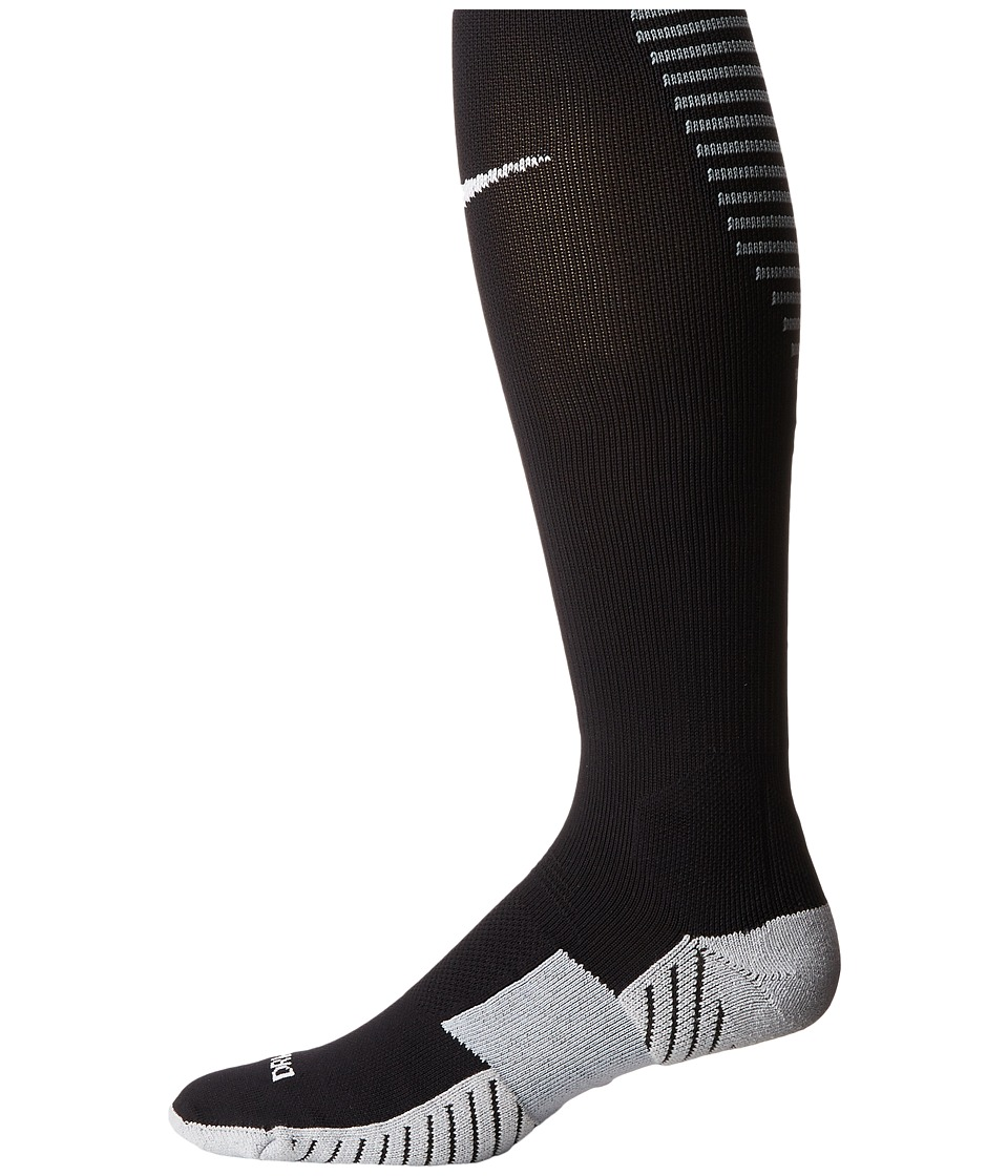Nike - Matchfit Over-the-Calf Team Socks (Black/Cool Grey/White) Knee High Socks Shoes