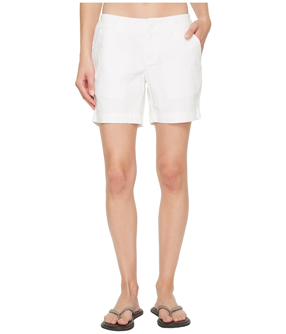 Columbia Compass Ridge Shorts 6 (White) Women