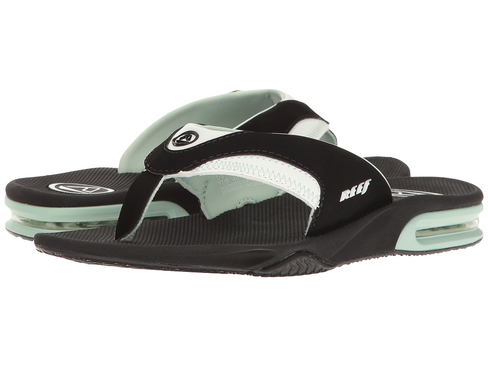 Reef Fanning W (Black/Mint) Sandals