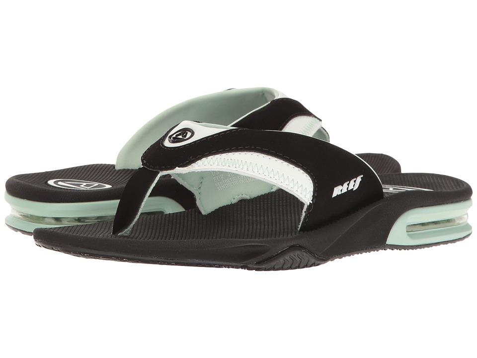 Reef Fanning W (Black/Mint) Women's Sandals