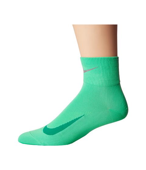 Nike Elite Run Lightweight 2.0 Quarter - Electro Green/Reflect Silver