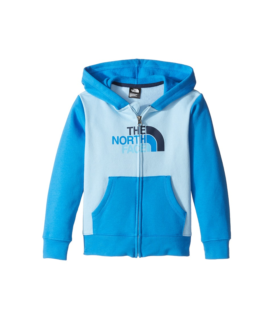 The North Face Kids Logowear Full Zip Hoodie (Toddler) (Sky Blue) Boy