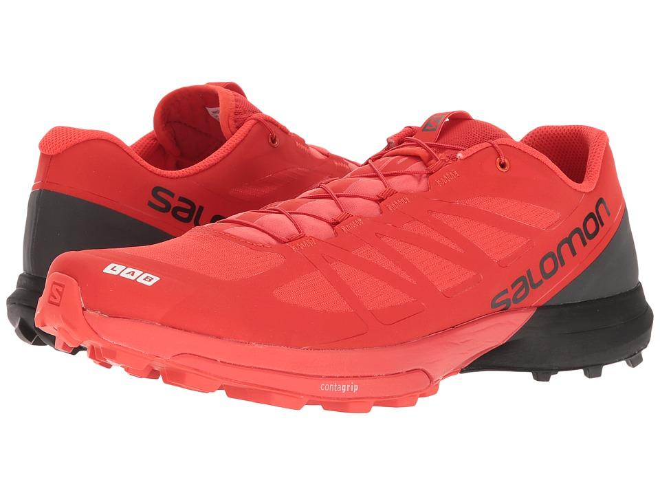 Salomon S-Lab Sense 6 SG (Racing Red/Black/White) Athletic Shoes