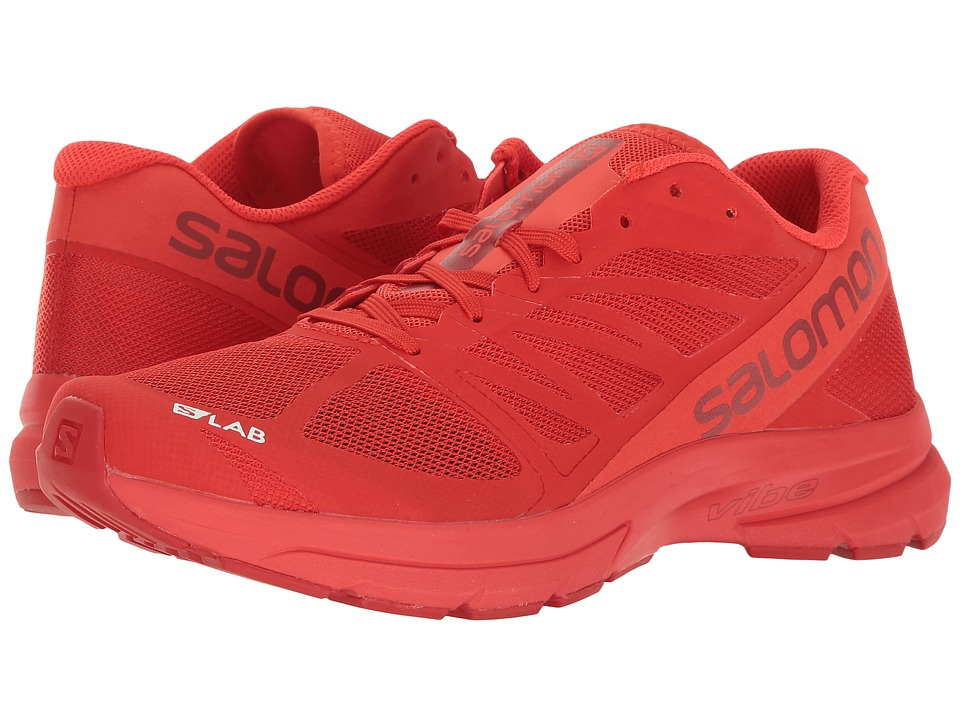 Salomon S-Lab Sonic 2 (Racing Red/Molten Lava/White) Athletic Shoes