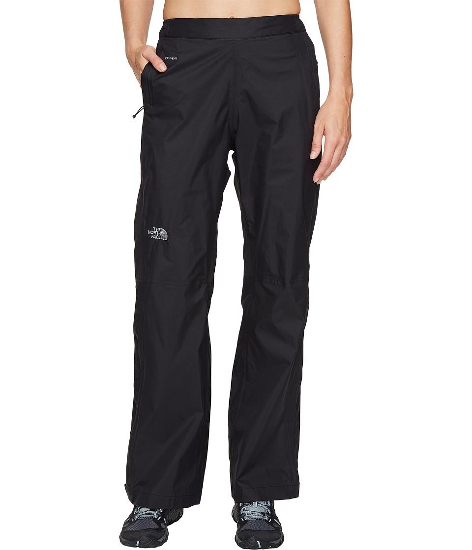 North Face Venture 2 1/2 Zip Pants (TNF Black) Women's Ca...