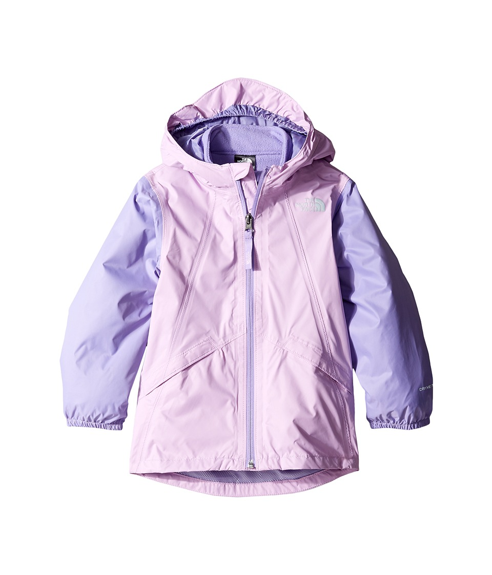 The North Face Kids Stormy Rain Triclimate Jacket (Toddler) (Violet Tulle/Paisley Purple) Girl