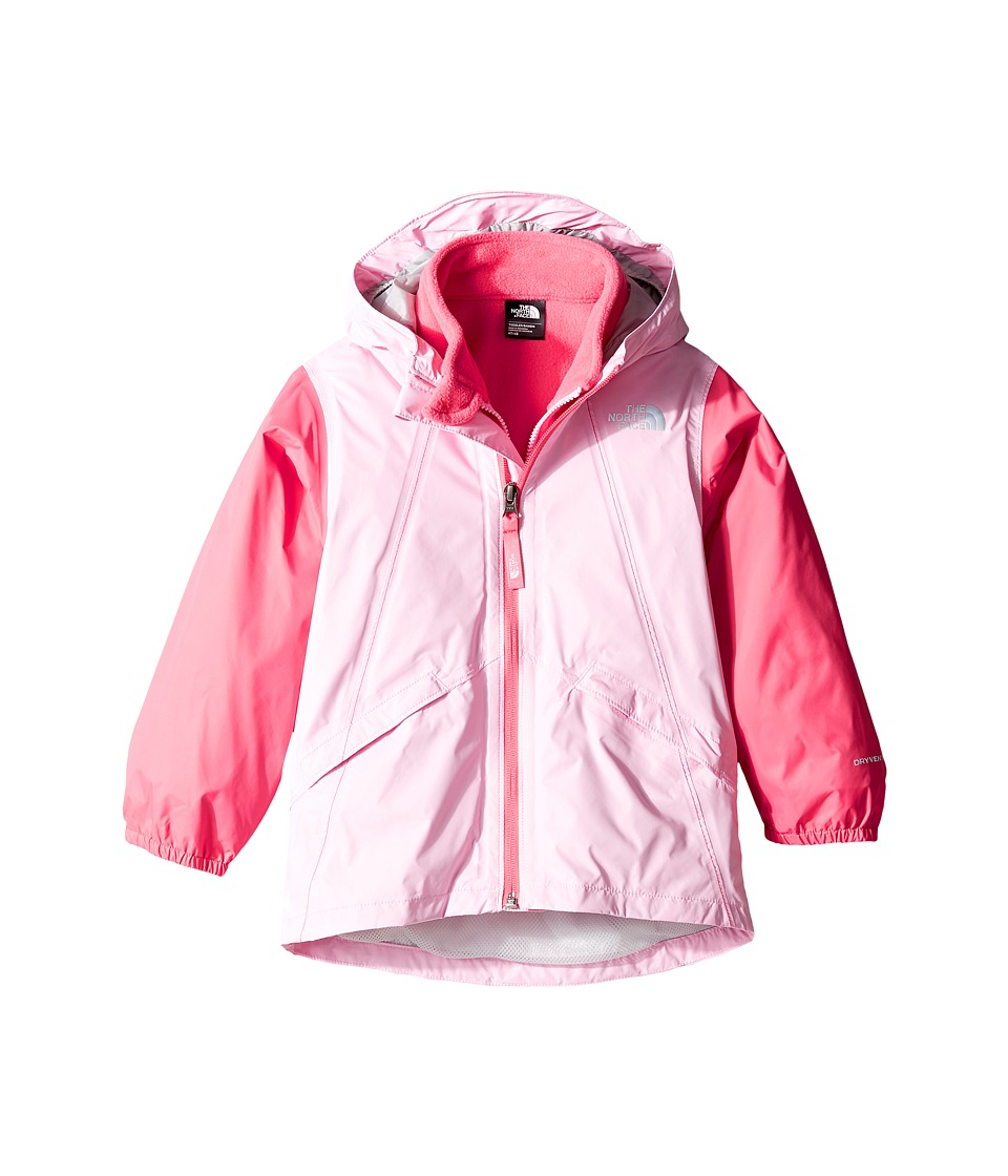 The North Face Kids Stormy Rain Triclimate Jacket (Toddler) (Lilac Sachet Pink/Honeysuckle Pink) Girl