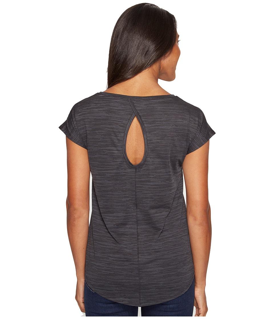 Columbia Shimmering Light Short Sleeve Shirt (Black) Women