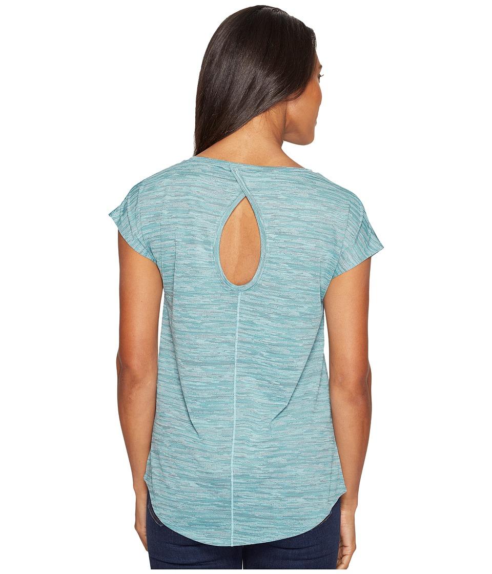 Columbia Shimmering Light Short Sleeve Shirt (Iceberg) Women