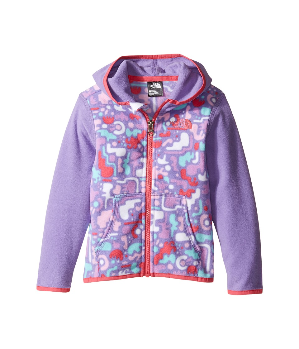 North Face Glacier Full Zip Hoodie (Infant) (Paisley Purp...
