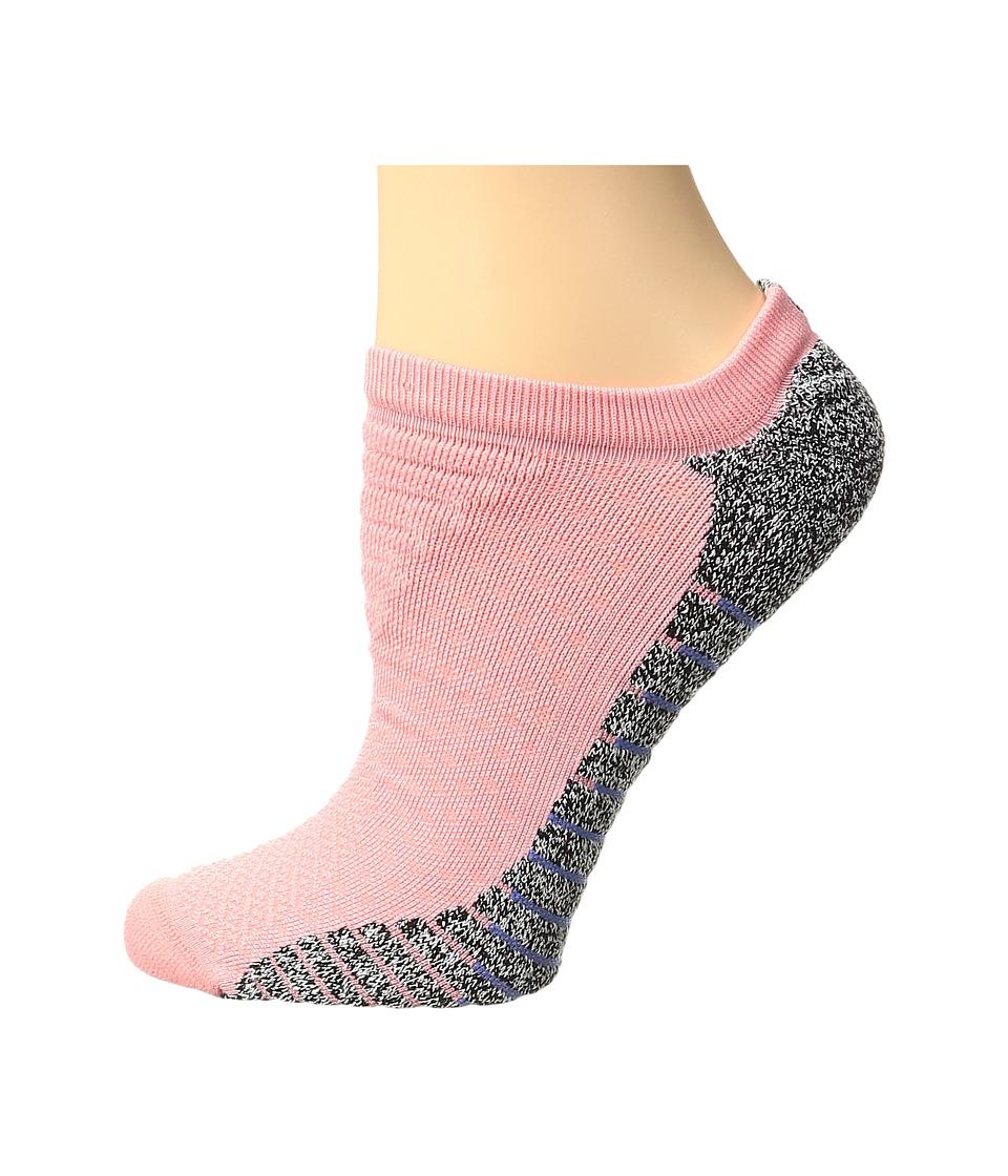 Nike - NIKEGRIP Lightweight No Show Training Socks (Bright Melon/Medium Blue) Women's No Show Socks Shoes