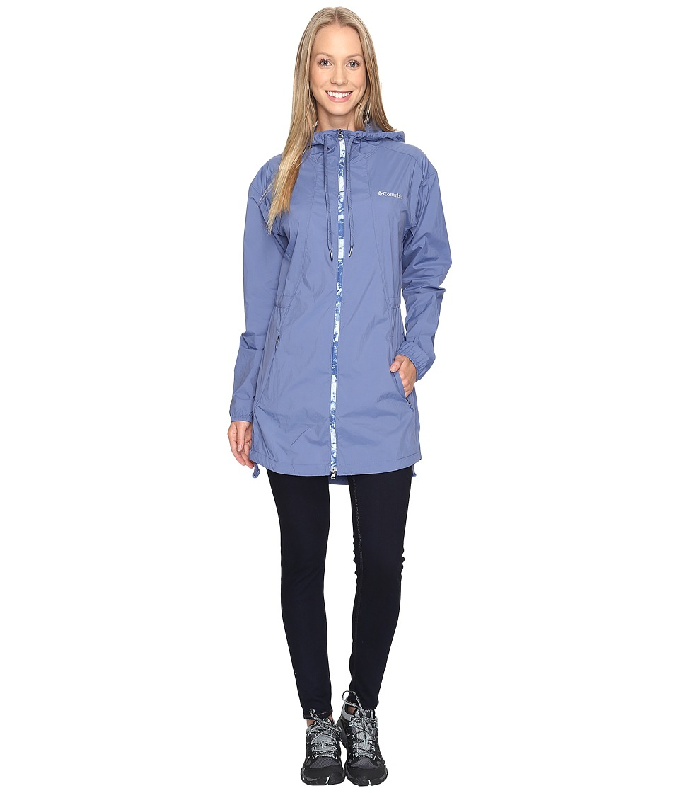 Columbia Athena Long Jacket (Bluebell) Women