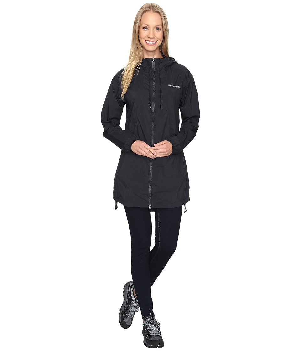 Columbia Athena Long Jacket (Black) Women