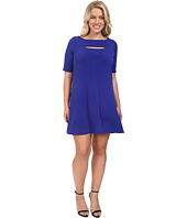 Christin Michaels - Plus Size Jan Peekaboo Dress