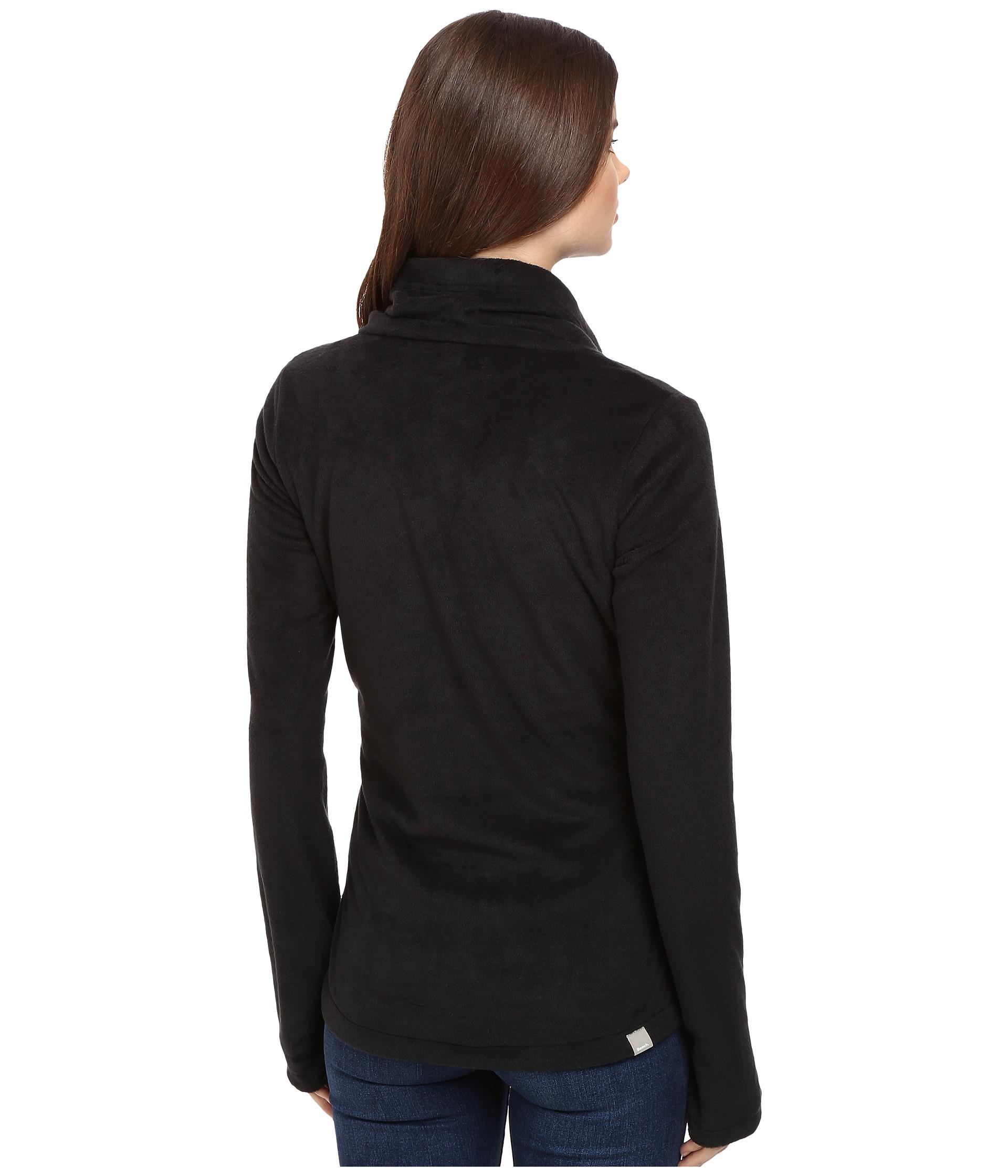 Bench Riskrunner Sweatshirt Jet Black Free Shipping Both Ways