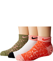 Nike Kids - 3-Pack Graphic Lightweight Cotton Low Cut (Little Kid/Big Kid)
