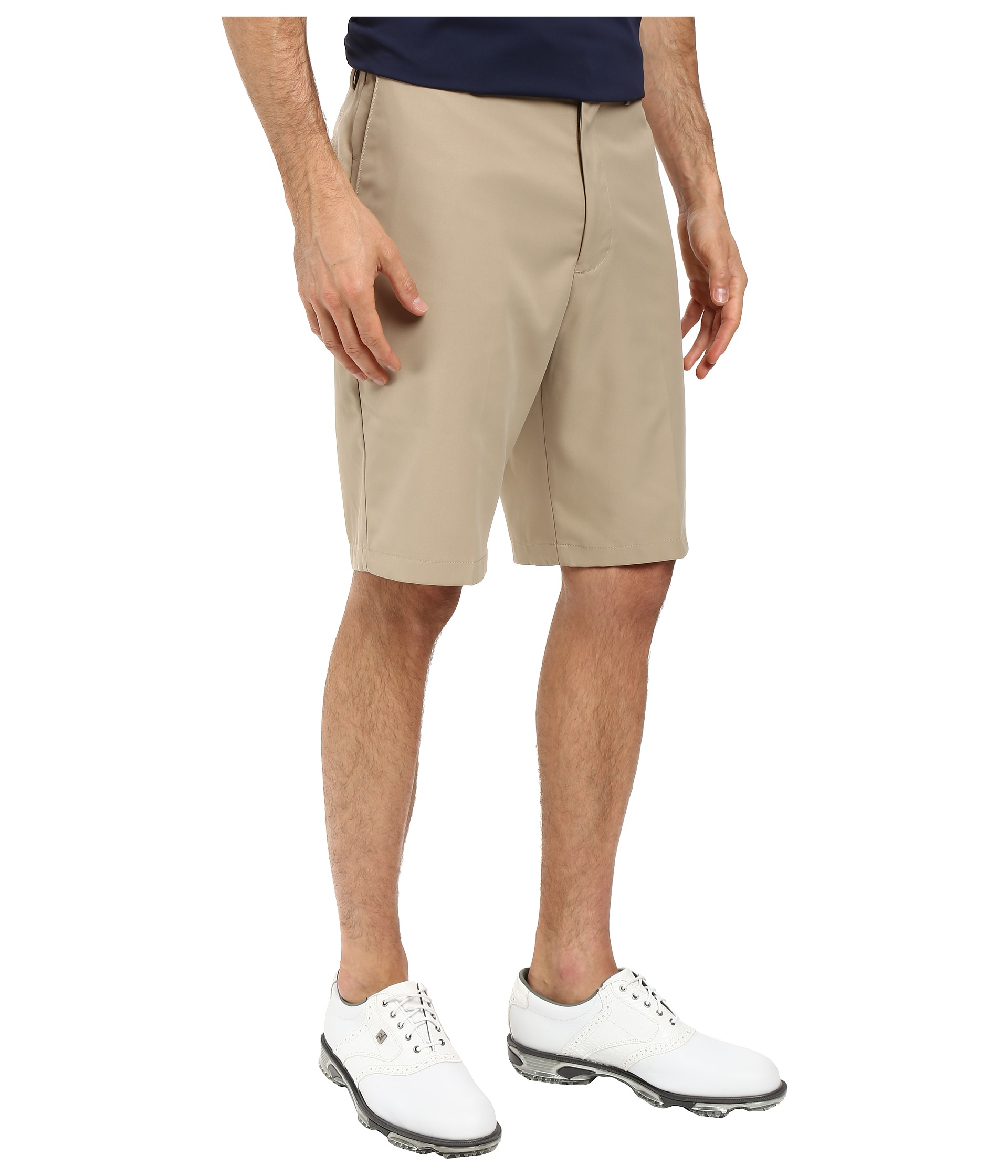 Dockers Men's Classic Fit Flat Front Golf Shorts Dockers ...