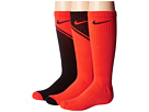 Nike Kids Multi-Graphic Cotton Socks 3-Pair Pack