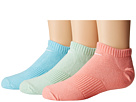 Nike Kids Lightweight Cotton Cushion No Show 3-Pair Pack (Toddler/Little Kid/Big Kid)