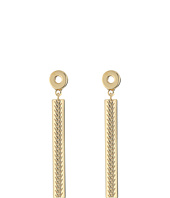 Cole Haan - Basket Weave Linear Stick Earrings