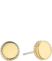 Cole Haan - Small Round Disc Stud Earrings