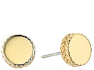 Cole Haan Small Round Disc Stud Earrings
