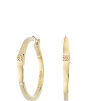 Cole Haan - Peaked Basket Weave Hoop Earrings