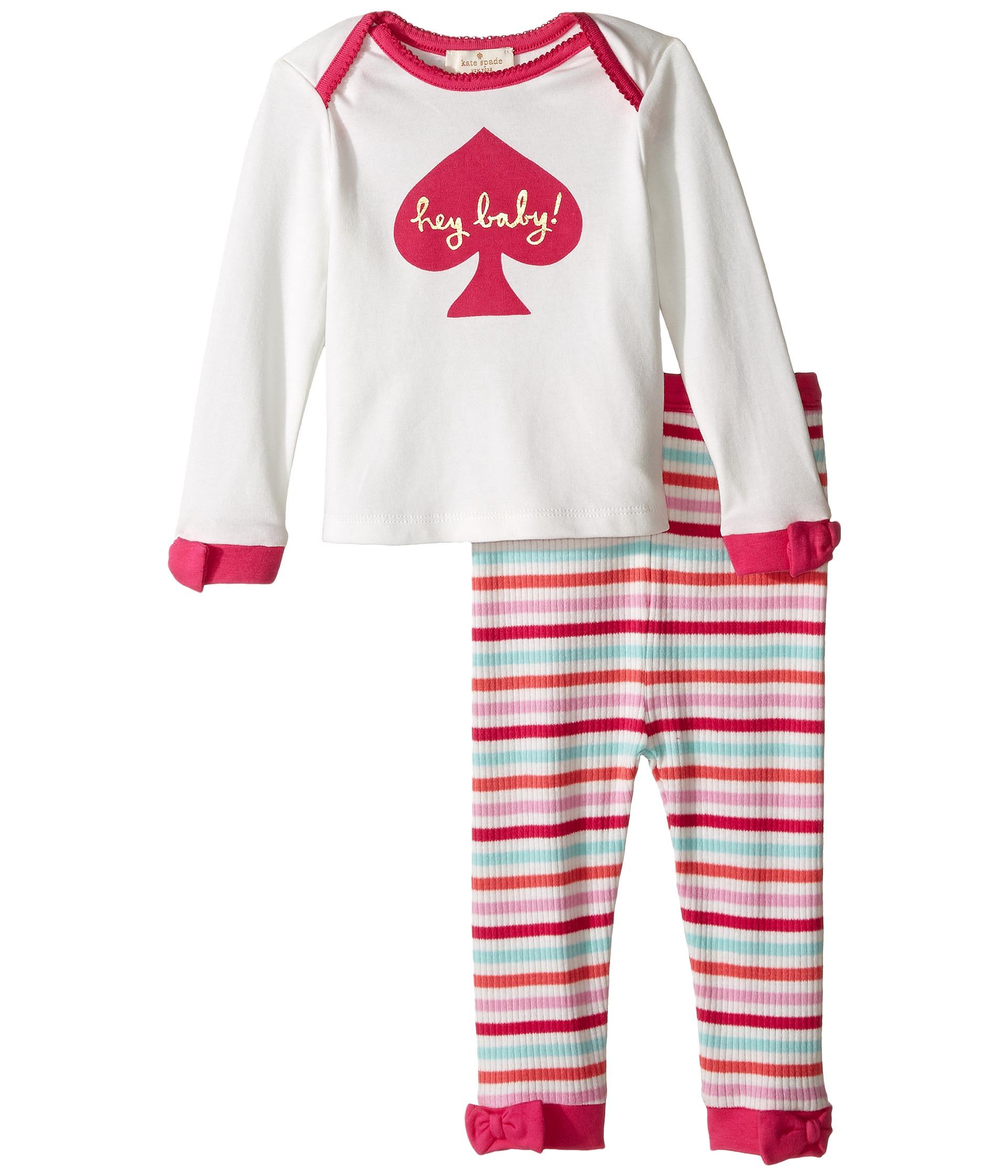 Kate Spade New York Kids Hey Baby Loungewear Set Infant