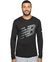 New Balance - Accelerate Long Sleeve Graphic Top