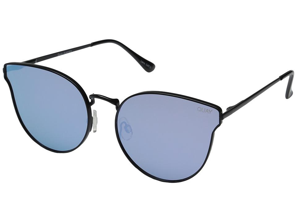 QUAY AUSTRALIA - All My Love (Black/Purple Mirror) Fashion Sunglasses