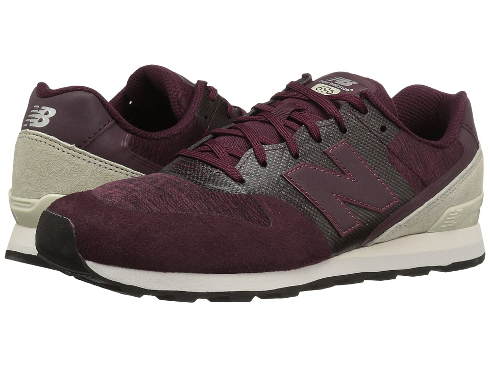 New Balance Classics - WL696 (Red/Red) Womens Classic Shoes