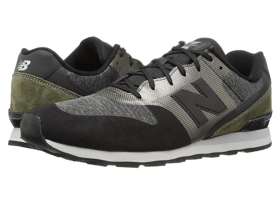 New Balance Classics - WL696 (Grey/Black) Womens Classic Shoes